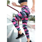 Camouflage High Rise Leggings