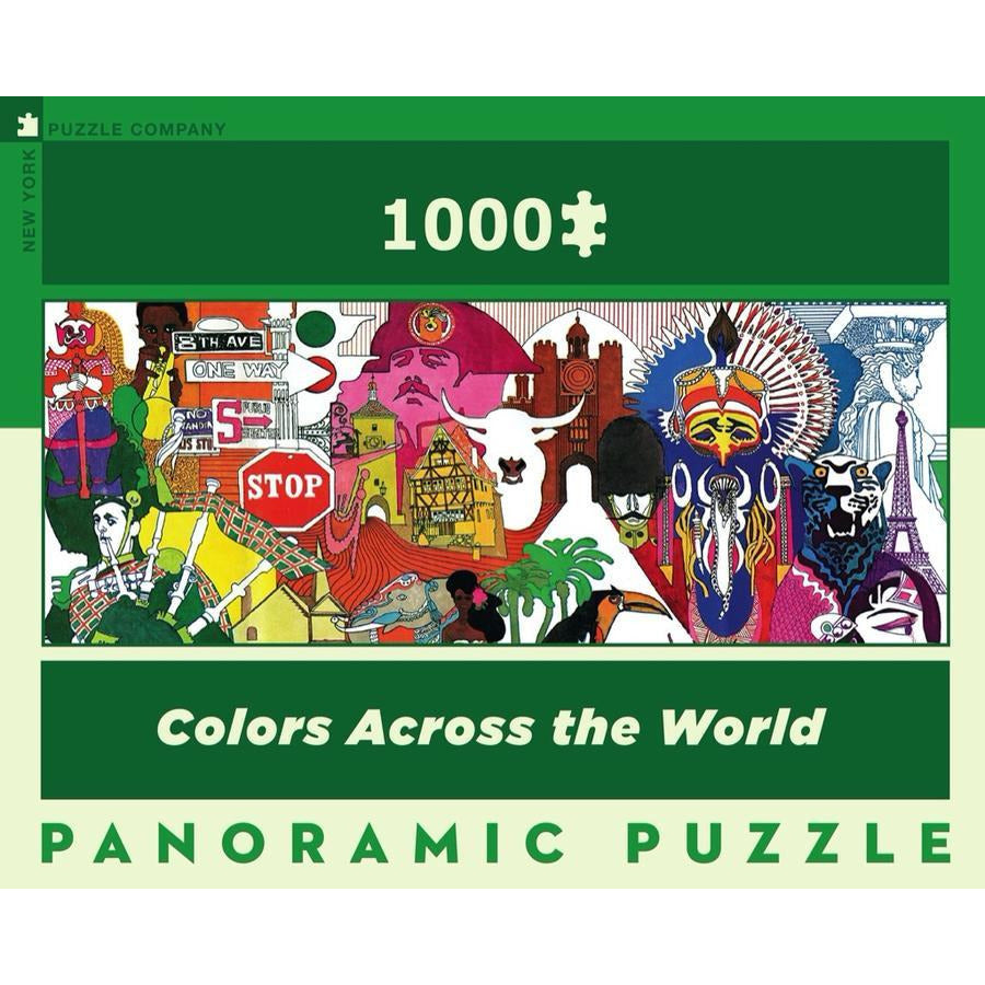 Colors Across The World Puzzle
