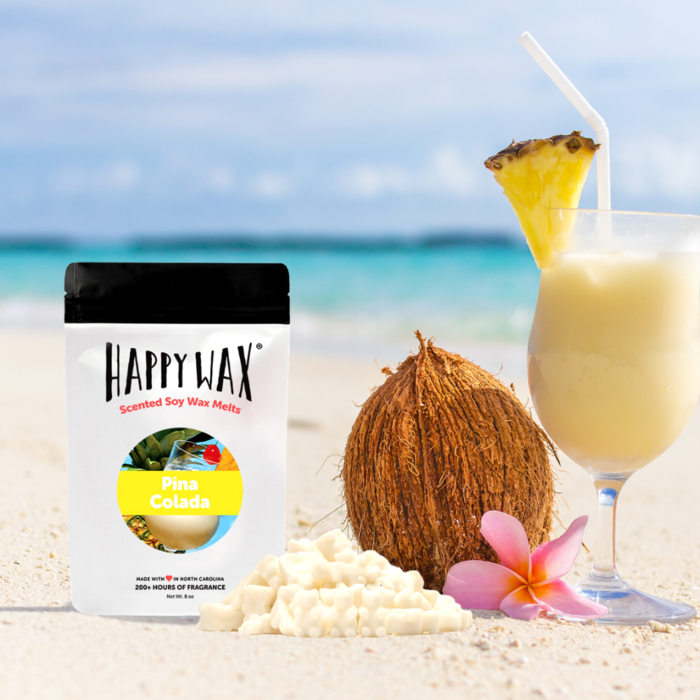 Happy Wax Soy Melts --  Pina Colada