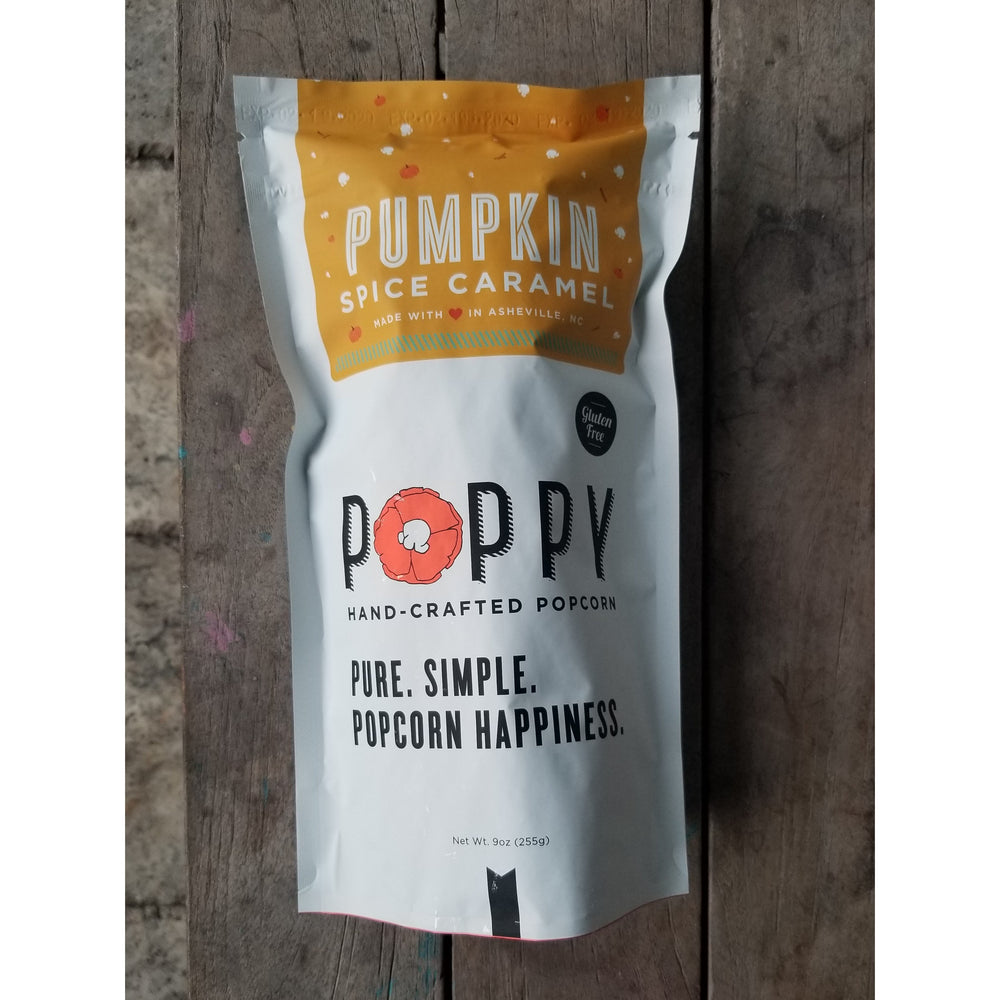 Pumpkin Spice and Caramel Popcorn by Poppy