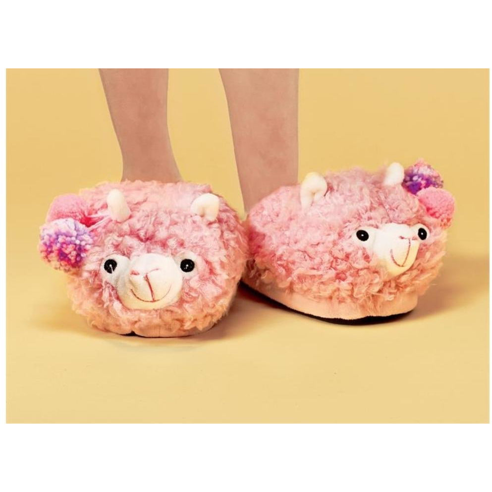 Llama Slippers -- Choice of Size