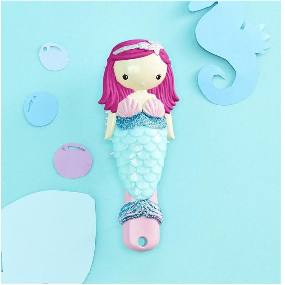 Mermaid Glitter Hair Brush