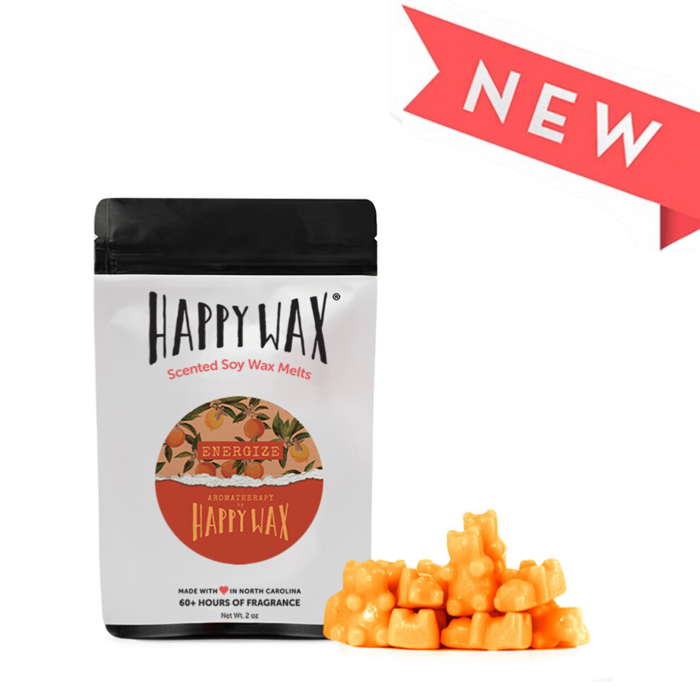 "Happy Wax Soy Melts --  Aromatherapy ""Energize"""