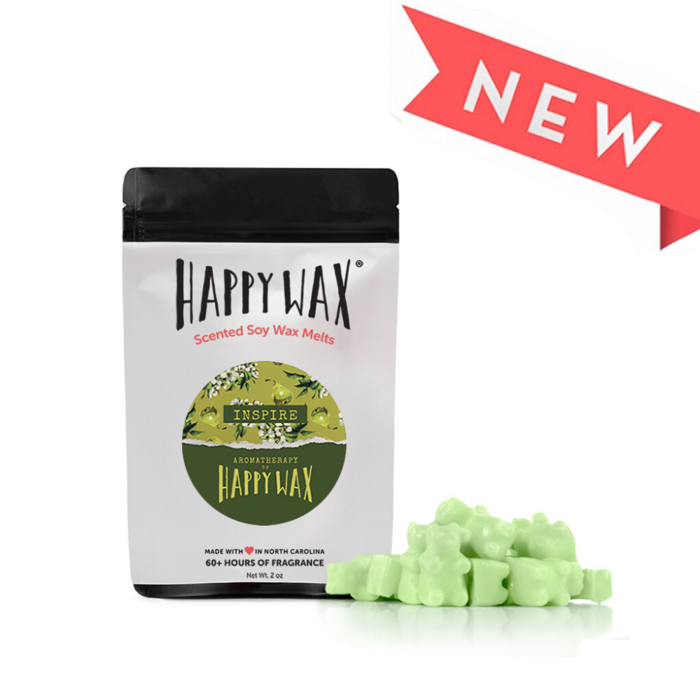 "Happy Wax Soy Melts --  Aromatherapy ""Inspire"""