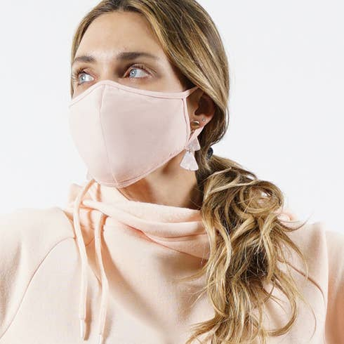 Pink Face Mask - Adult