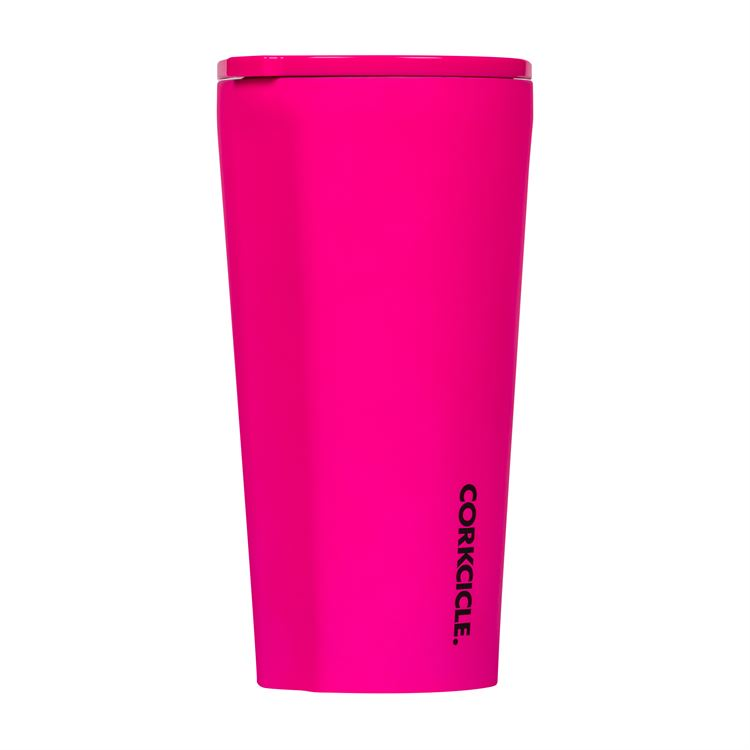 16oz Tumbler By Corkcicle  -- Neon Pink