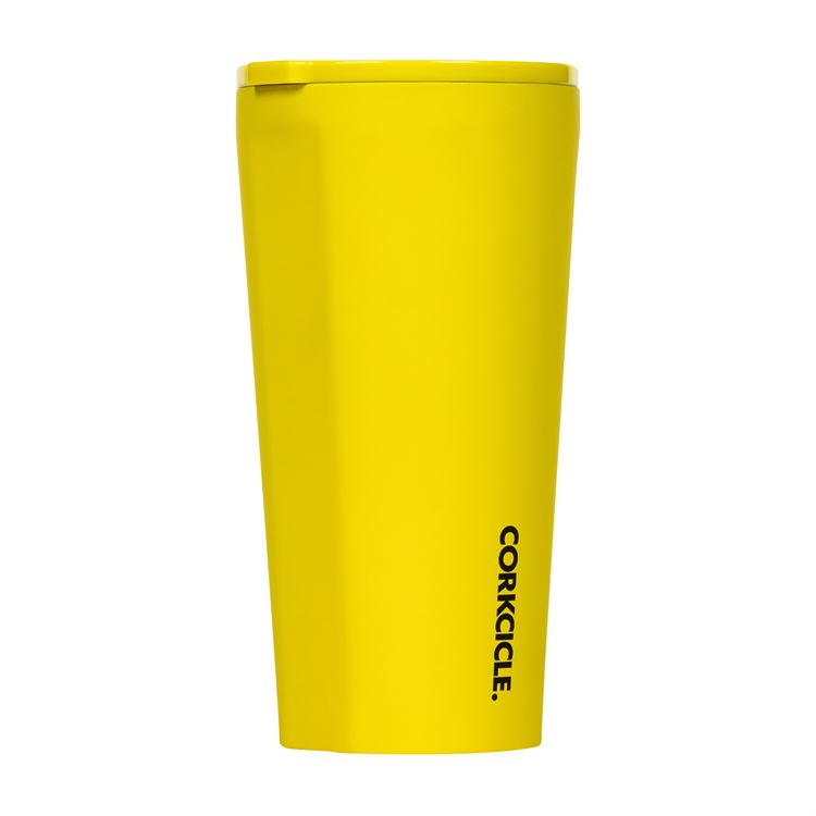 16oz Tumbler By Corkcicle -- Neon Yellow