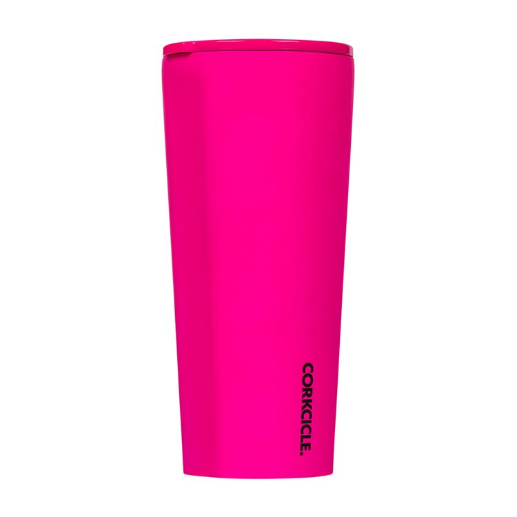 24oz Tumbler By Corkcicle -- Neon Pink
