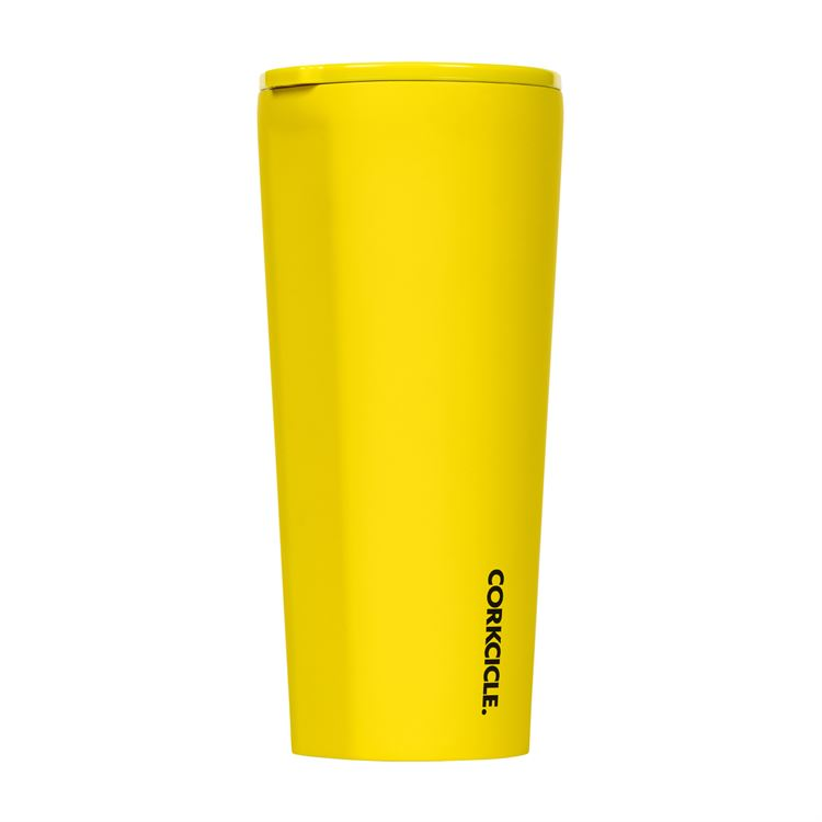 24oz Tumbler By Corkcicle -- Neon Yellow
