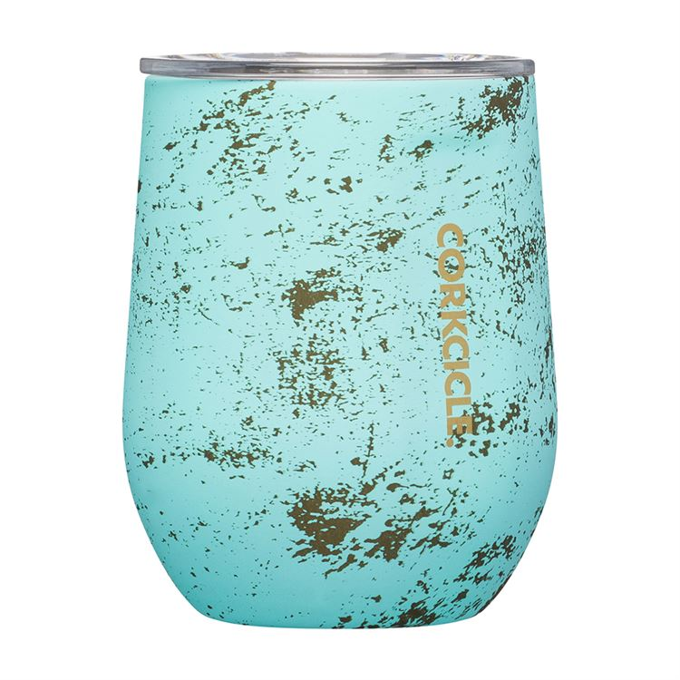 12oz Stemless By Corkcicle -- Bali Blue