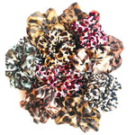 Mystery Animal Print Scrunchie