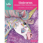 Unicorn, Mermaids Coloring Book