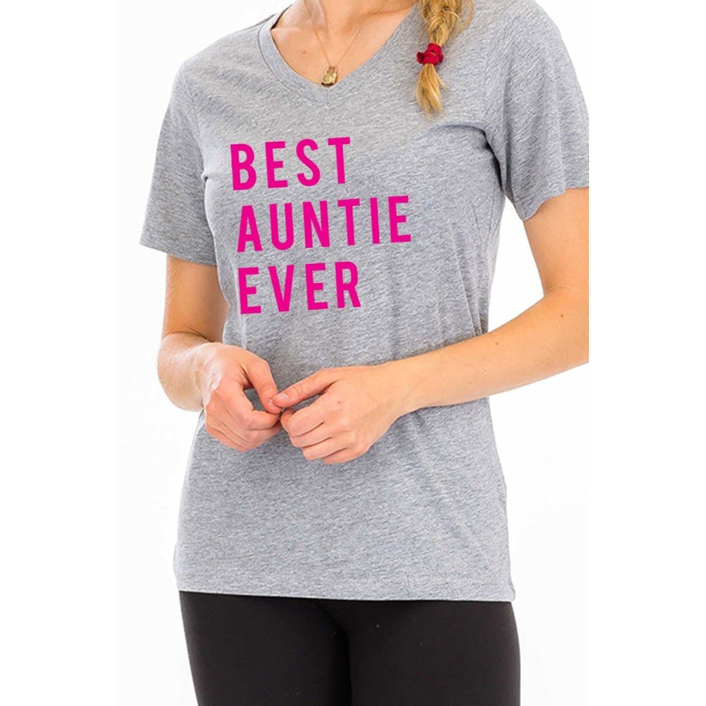 Best Auntie Ever  T-Shirt -- Choice of Size