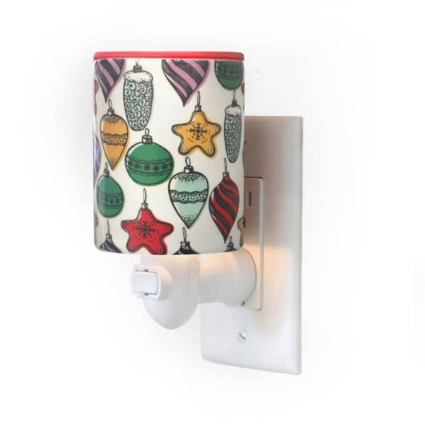 Happy Wax Outlet Warmer  -- Retro Ornament