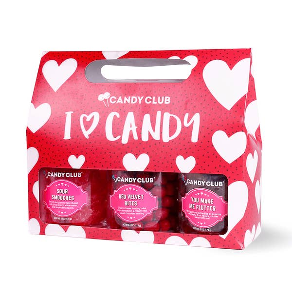"""I <3 Candy"" Gift Set -- Candy Club"