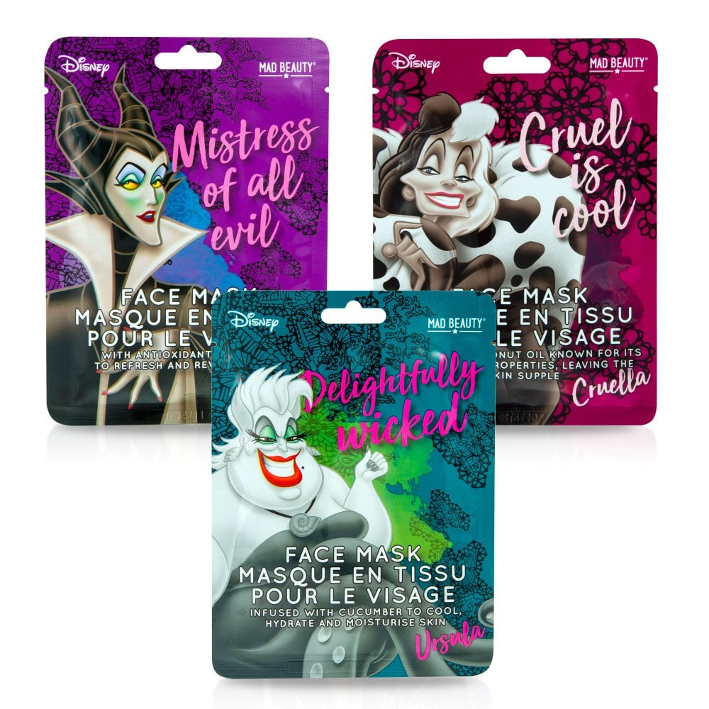 Disney Villains Face Mask
