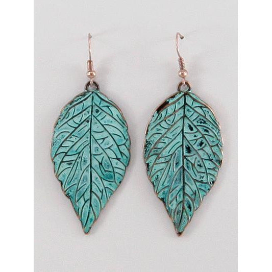 Leaf Pantina Earrings
