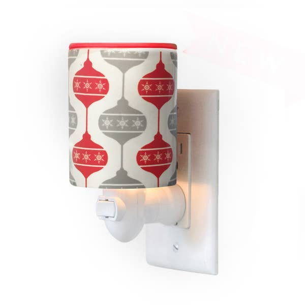Happy Wax Outlet Warmer  -- Classic Ornament