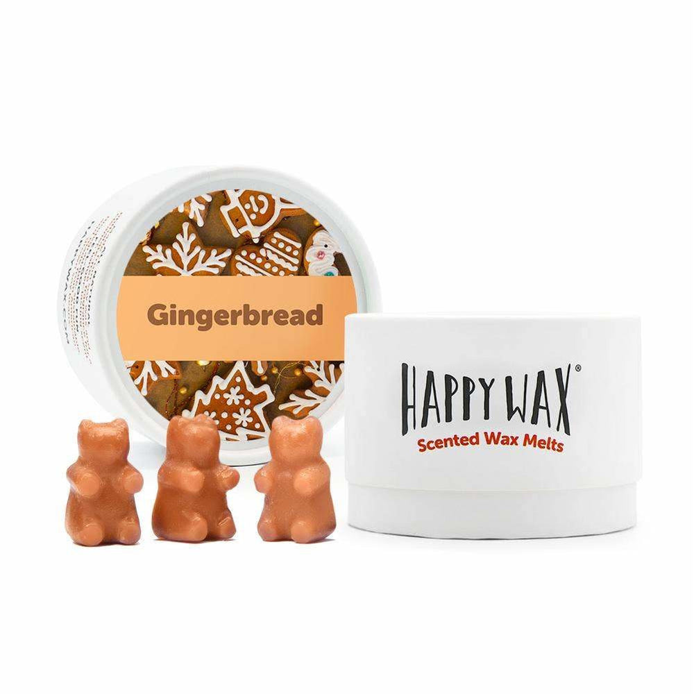 Happy Wax Soy Melts --  Gingerbread
