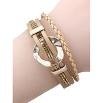 Irene Layered Bracelet -- Gold