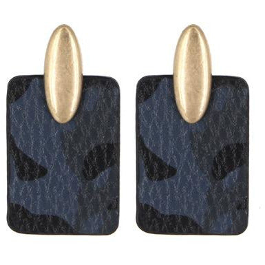 Camo Earrings