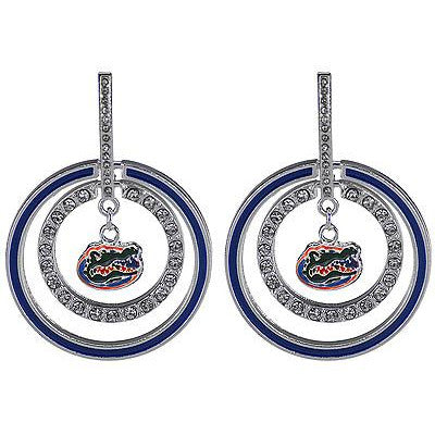 University of Florida Dazzle Hoop Earrings