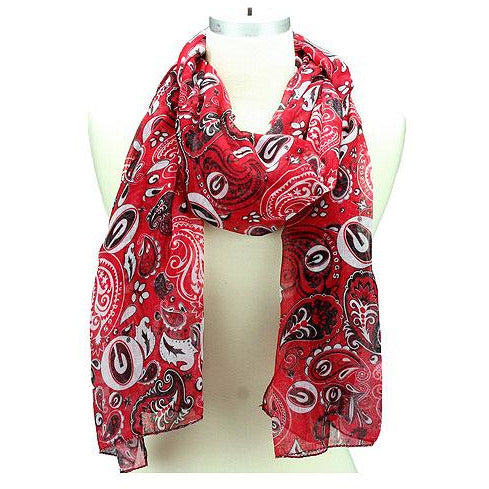 Paisley Scarfs -- Choice of Team