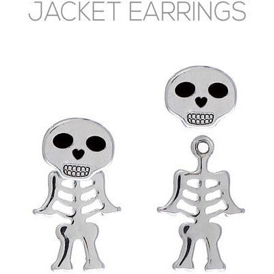 Skeleton Jacket Earrings