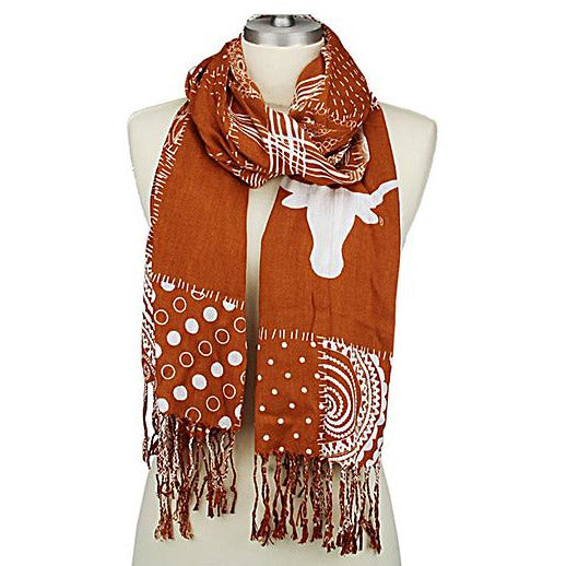Mixed Print Scarf -- Choice of Team