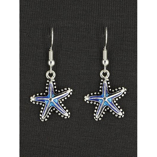 Starfish Hook Earring -- Choice of Color