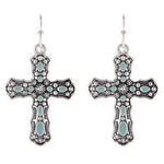 Navajo Cross Earrings