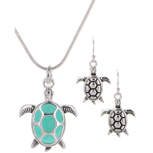 Sea Life Necklace Set -- Choice of Style