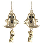 Boo Ghost Dangle Earring  -- Choice of Color