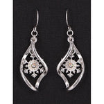 Snowflake Earrings -- Choice of Style