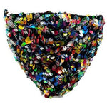 Multi Sequin Face Mask - Adult