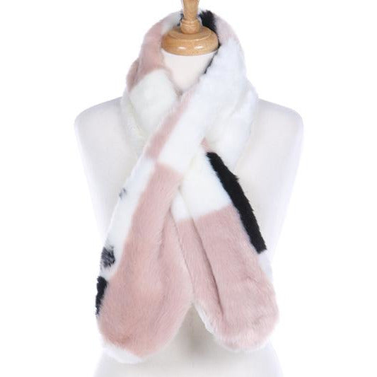 Faux Fur Scarf -- Choice of Color