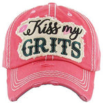 Kiss My Grits Hat -- Choice of Color