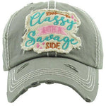 Classy With A Savage Side Hat -- Choice of Color