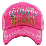 A Little Country A Little Hood Hat -- Choice of Color