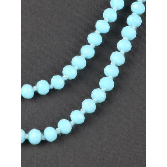 Mint -- Knotted Necklace