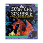 Scratch & Scribble Art Kit -- Fantastic Dragons