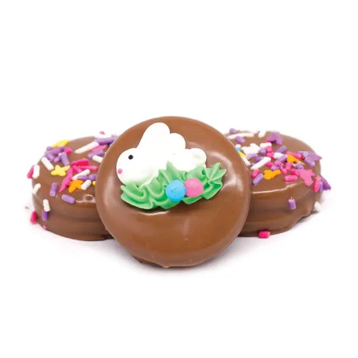 Easter Chocolate Dip Oreos - Milk Chocolate