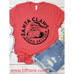 Santa Claws Hard Seltzer Graphic Tee