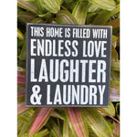 """This Home Is Filled With Endless Love""  Box Sign by PBK"