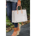 Tiffany Checkered Handbag -- Choice of Color