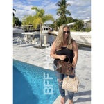Stella Checkered Handbag -- Choice of Color