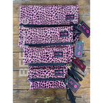 Pink Patent Leopard by Makeup Junkie Bags
