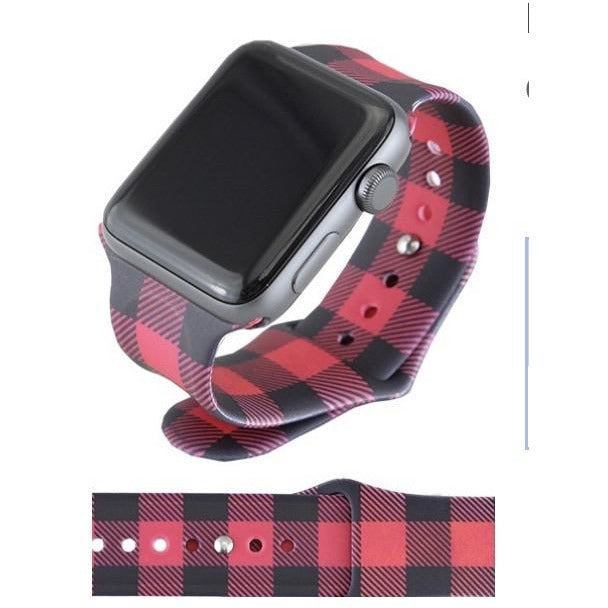 Buffalo Plaid Watch Band