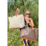 Alexander Checkered Weekender Bag -- Choice of Color