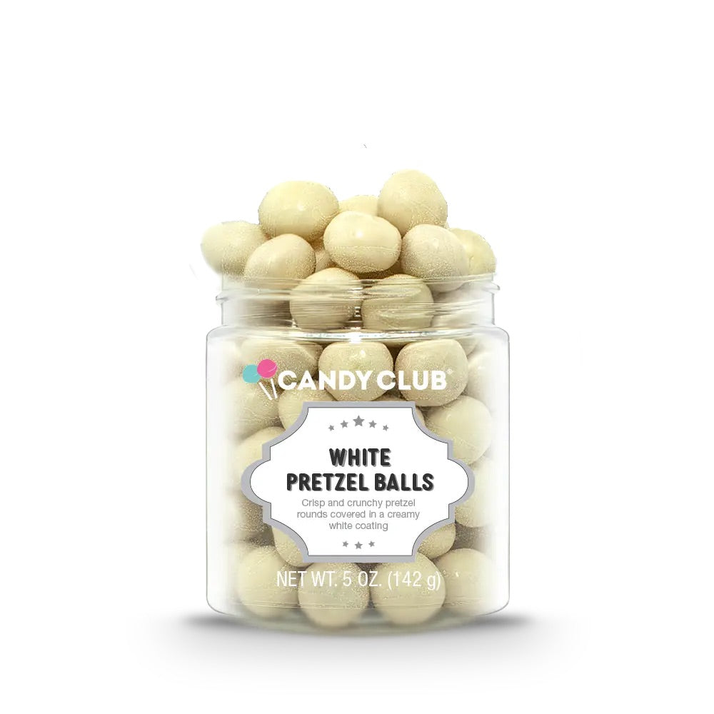 White Pretzel Balls *LIMITED EDITION* by Candy Club